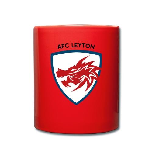 AFC Leyton Logo (Black) - Full Colour Mug
