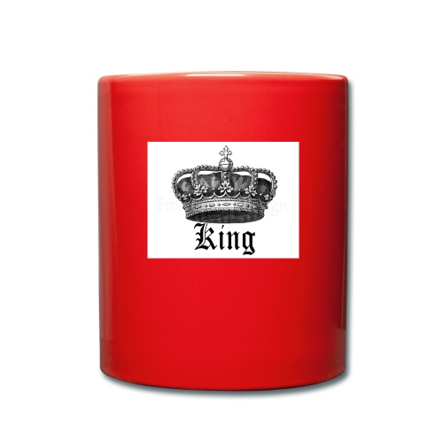 kings crown - Full Colour Mug