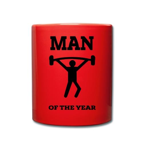 Man of the year - Ensfarget kopp