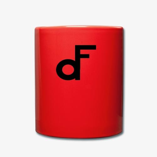 Min Logo - Ensfarget kopp