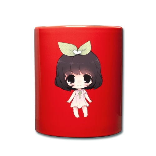 Cute anime girl chibi - Full Colour Mug