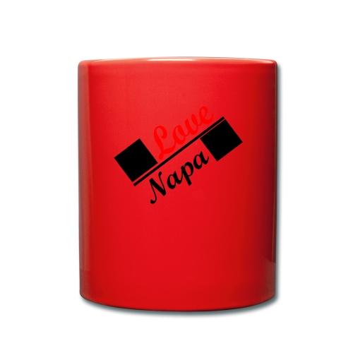 Love Napa - Tasse einfarbig