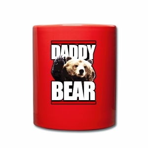 DADDY BEAR - Taza de un color