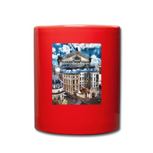 Paris - Ensfarvet krus