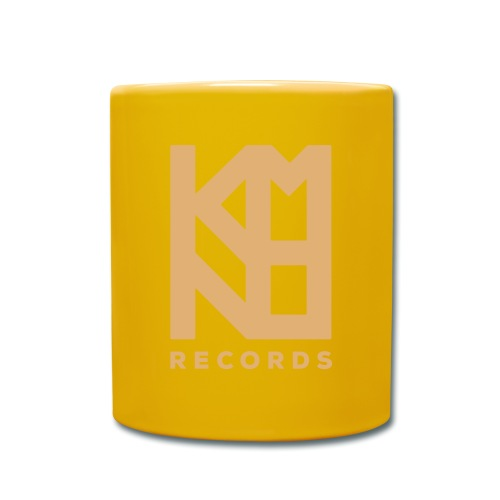KMNO Records - Logo Txt - Full Colour Mug