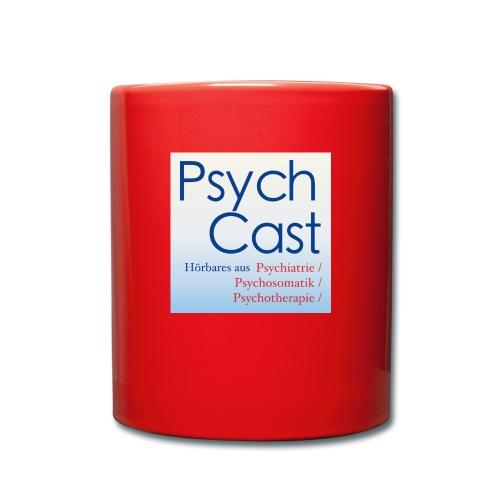 PsychCast - Tasse einfarbig