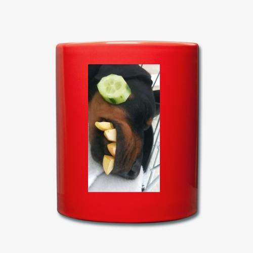 Dobermann Wellness - Tasse einfarbig