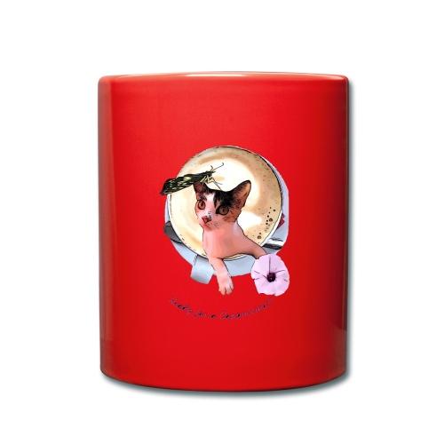 Ready for a cappuchino? - Full Colour Mug
