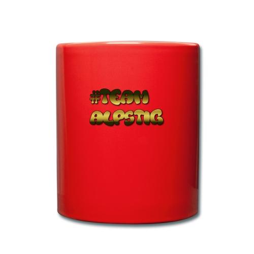 #TEAMALPSTIG3 - Enfärgad mugg