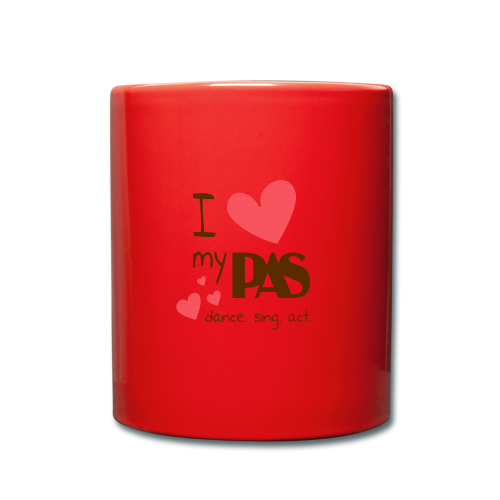 I love my PAS - Tasse einfarbig