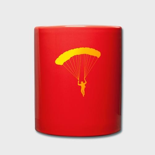 Colorfull Skydiver - Tasse einfarbig