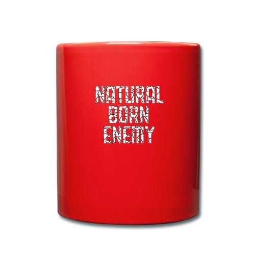 Natural Born Enemy - Tasse einfarbig