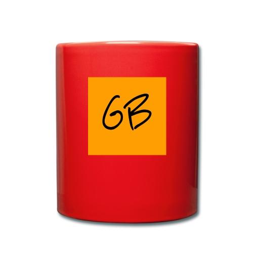 GB - Ensfarvet krus