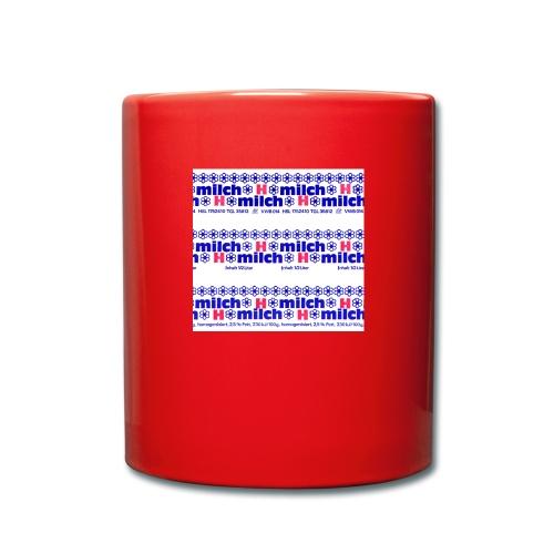 H-Milch - Tasse einfarbig