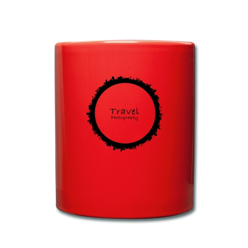 Reisefotografie - Travel Photography Design - Tasse einfarbig