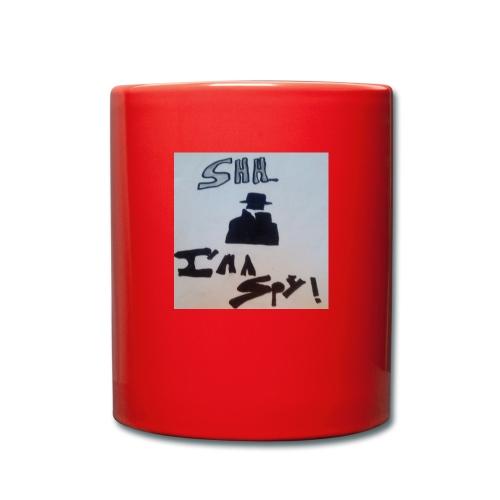 Shhhhhhh... Im a spy - Full Colour Mug