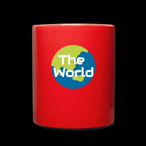 The World Earth - Ensfarvet krus