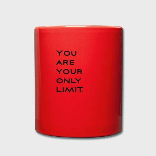 Limit Black - Tasse einfarbig