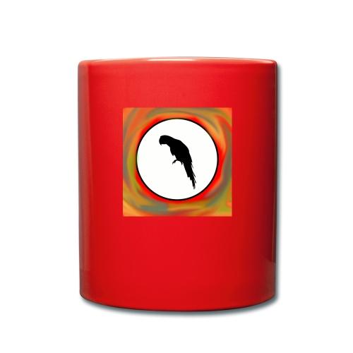 Papagei - Tasse einfarbig