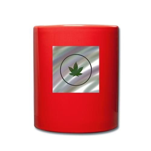 Hanfblatt - Tasse einfarbig