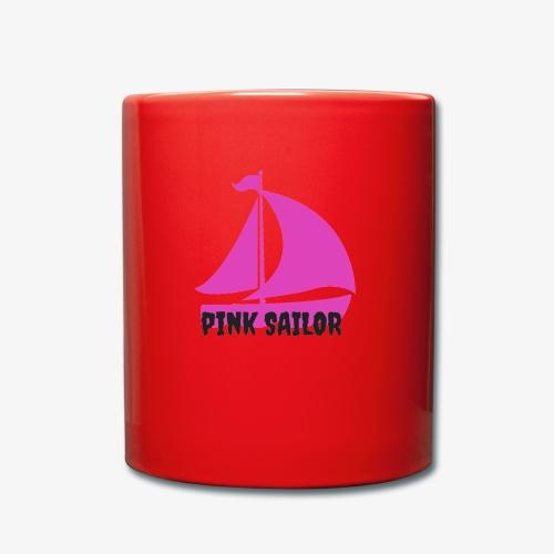 PINK SAILOR - Enfärgad mugg