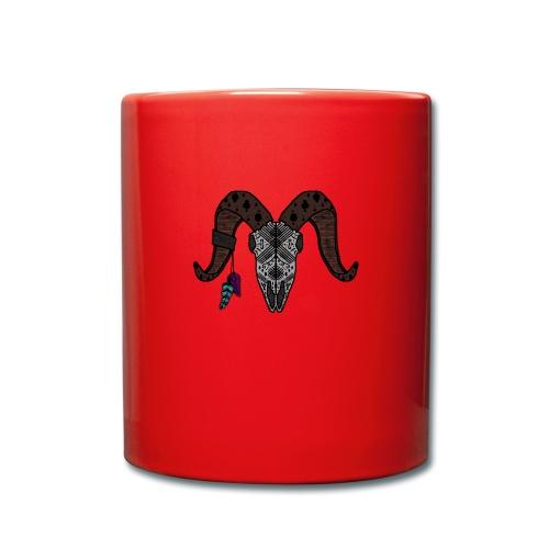 Widder-Federn - Tasse einfarbig