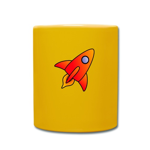 Red Rocket - Full Colour Mug