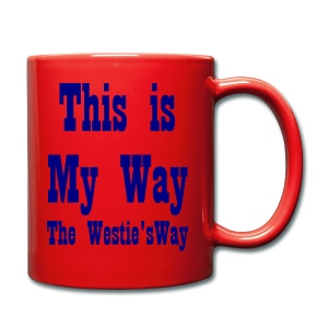 This is My Way Navy - Full Colour Mug