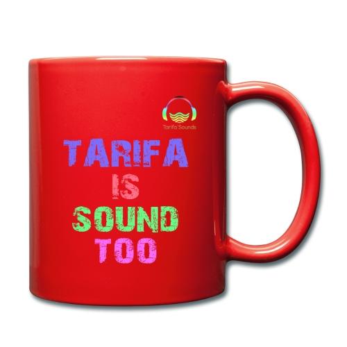 Tarifa tambiés es sonido - Taza de un color