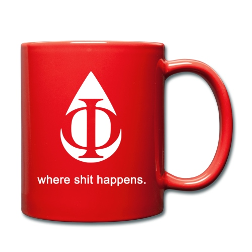 AquaPhi Logo (White) - Full Colour Mug