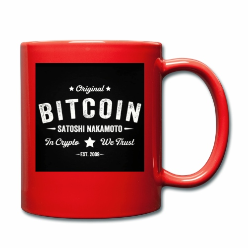 In Crypto We Trust - Full Colour Mug