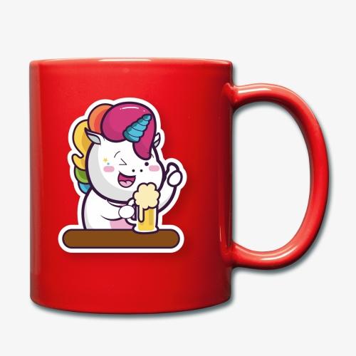 Funny Unicorn - Full Colour Mug