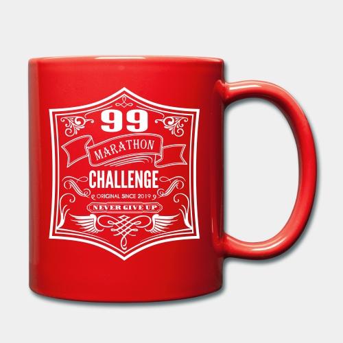 99 marathon challenge - Kubek jednokolorowy