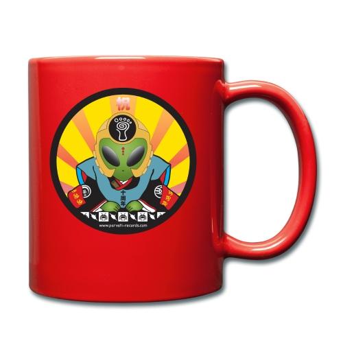 Parvati Records Psyvader by Catana jp - Full Colour Mug