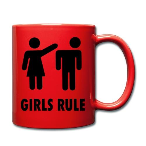 Frauen Macht - Tasse einfarbig