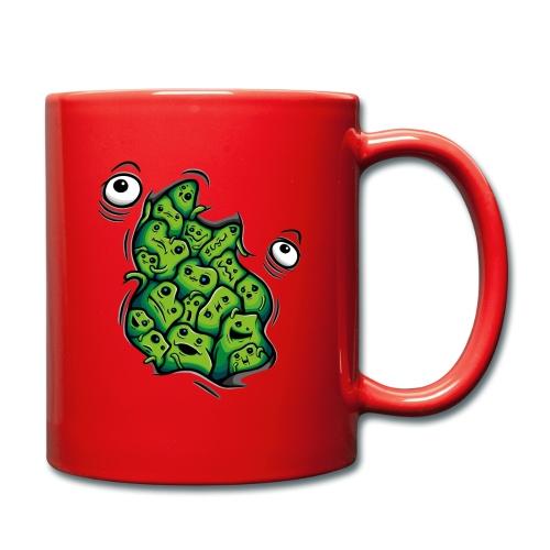 Getting Outside (green version) - Full Colour Mug