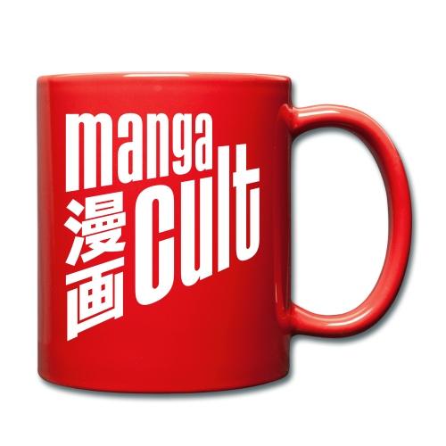 Manga Cult Logo Weiß - Tasse einfarbig