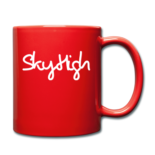 SkyHigh - Snapback - (Printed) White Letters - Full Colour Mug