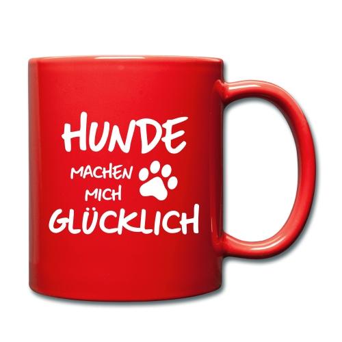 Vorschau: gluck - Tasse einfarbig