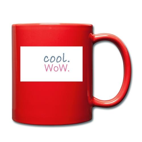 cool wow - Tasse einfarbig