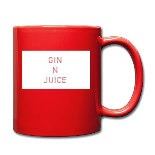 Gin n juice geschenk geschenkidee - Tasse einfarbig