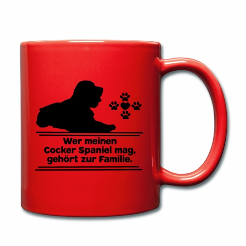 Cocker Spaniel T-Shirts Cockerspaniel Hundespruch - Tasse einfarbig