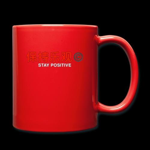 Stay Positive - Full Colour Mug