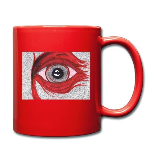 Auge - hypnotischer Blick - Tasse einfarbig