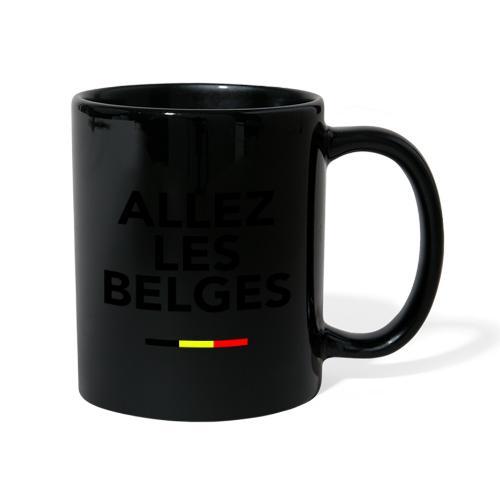 allez les Belges! - Mug uni