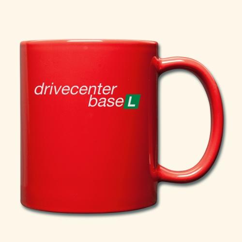 drive center logo - Tasse einfarbig