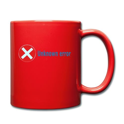 Unkown Error - Yksivärinen muki