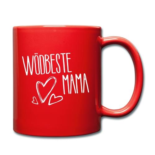 Wödbeste Mama - Tasse einfarbig