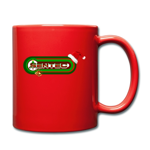 LOGO SENTEC CHRISTMAS - Taza de un color