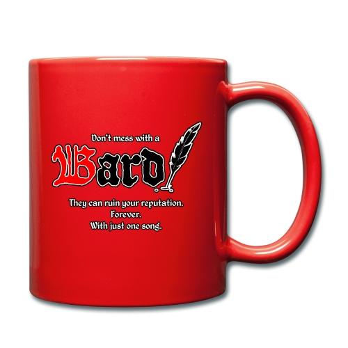 Bard! mit Slogan - Tasse einfarbig